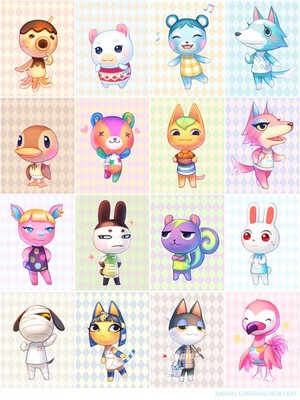 Animal Crossing shabiki Art