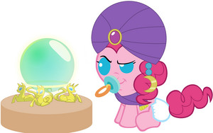 Baby Pinkie Pie can read the Future!