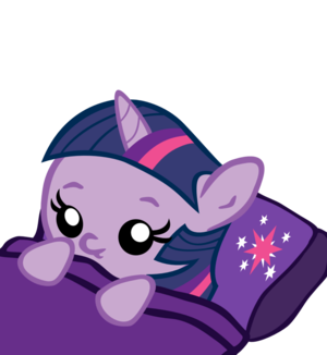 Baby Twilight Sparkle Sleeping