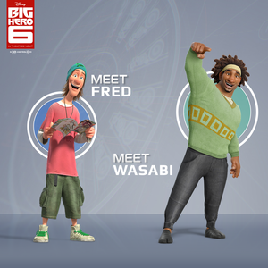 Fred and Wasabi