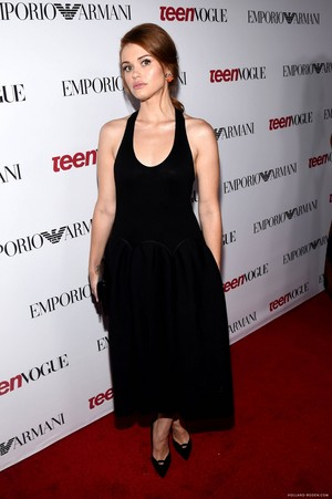 Holland Roden attends the 12th Annual Teen Vogue Young Hollywood Party