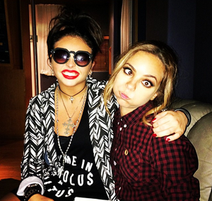 Jesy's New Instagram Picture with Jade ♥