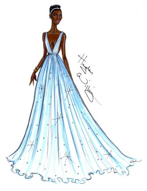Lupita Nyong'o Oscar Dress
