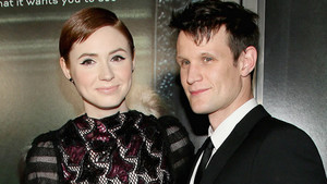 Matt Smith and Karen Gillan// Oculus Premiere