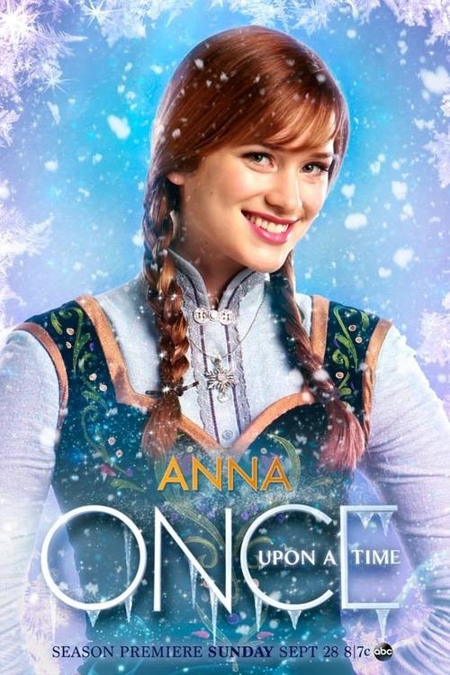 Beliebt Elsa und Anna Bilder Once Upon a Time - Anna Poster HD Hintergrund MT37