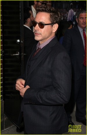 RDJ @ The Late mostrar with David Letterman
