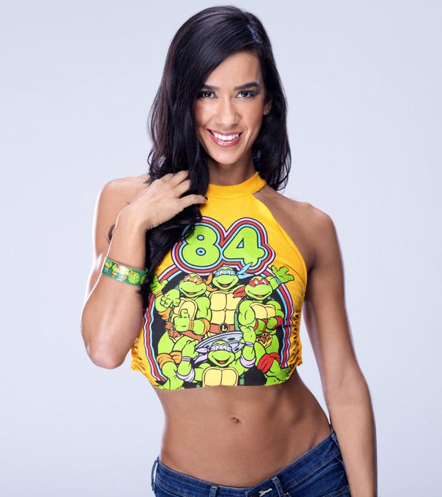 WWE Divas Champion AJ Lee Sexy Geek Goddess Photos