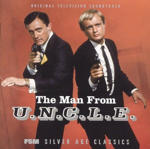 The Man From U.N.C.L.E. soundtrack LP