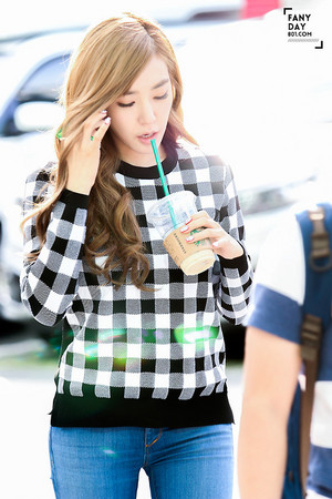 Tiffany walking