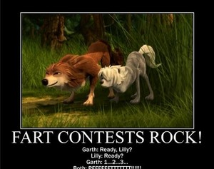 fart contests lol