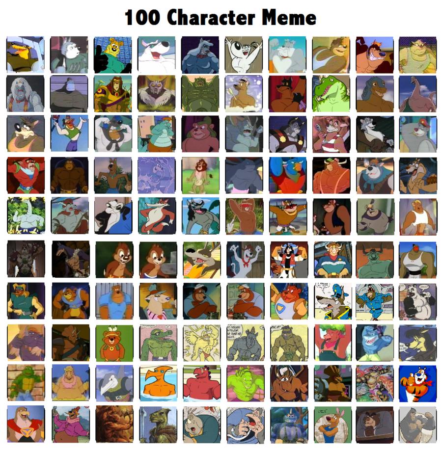 100 Pictures Cartoon Characters 100 hharacter meme - cartoons photo (37763235) - fanpop