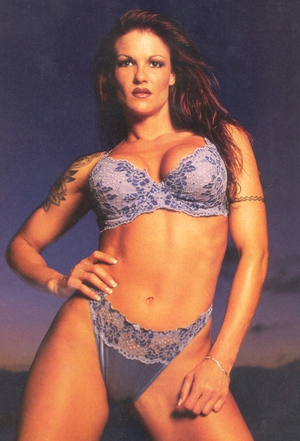 Amy Christine Dumas aka Lita in her underwear