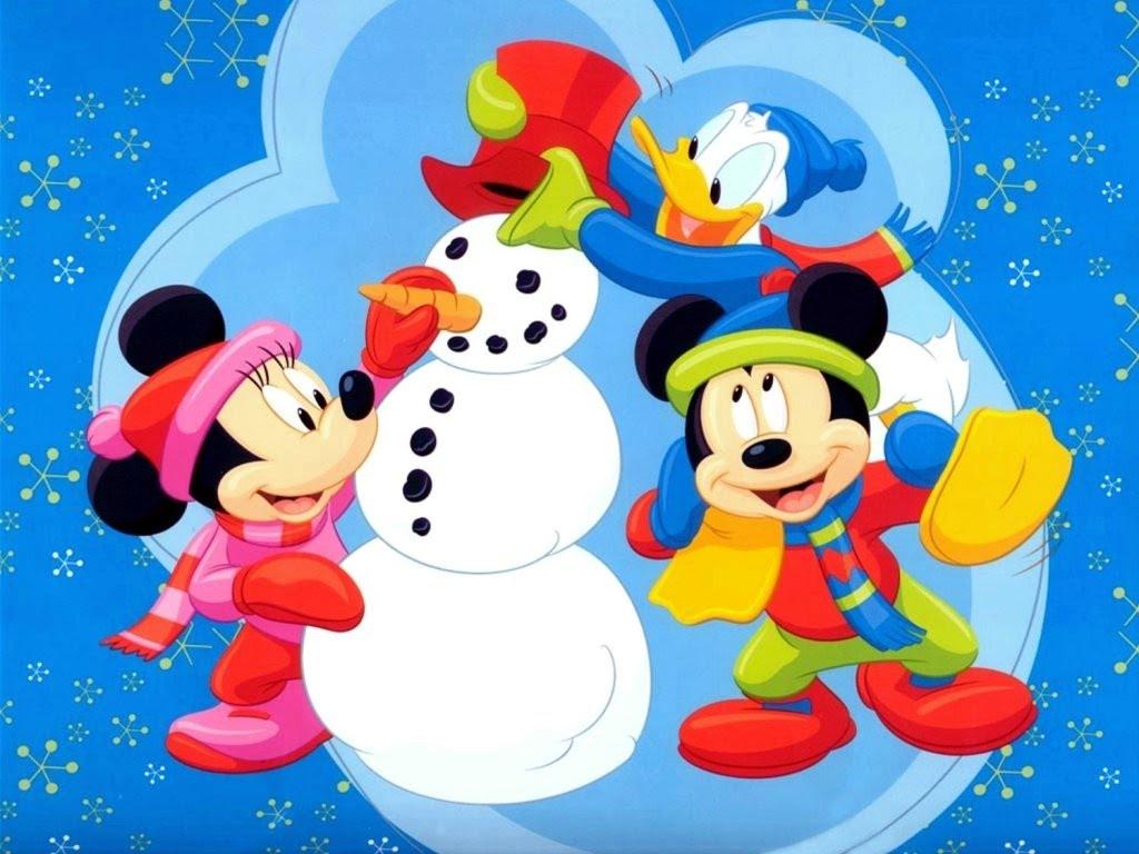 Christmas Wallpaper Mickey And Friends Wallpaper 37767669 Fanpop