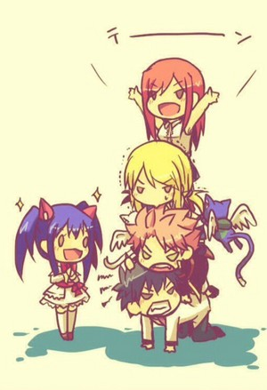 Fairy tail chibi tower