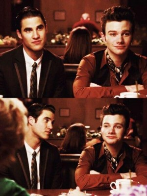 Kurt and Blaine