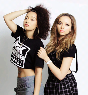 Leigh-Anne and Jade