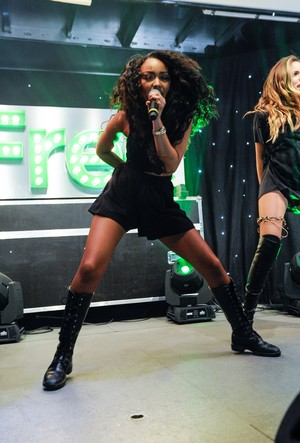 Little Mix Perform at Merry Hill's Christmas Lights Switch On Event