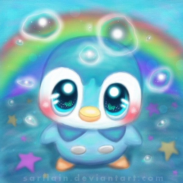 Piplup 팬 Art