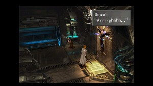 SQUALL LEONHART DIED IN ELECTRIC BOLTS TORTURE