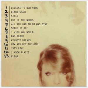 The full track list. #TS1989
