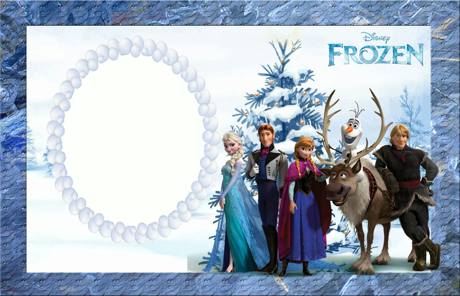It's just an image of Free Printable Frozen Invitations Templates intended for tarpaulin design