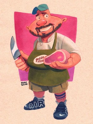 hey arnold characters as adults: harold