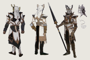 The Venatori concept art in The Art of Dragon Age: Inquisition