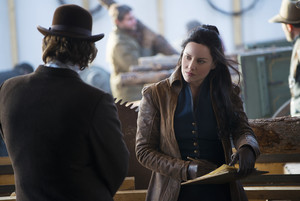 Abbie Cornish as Belinda Mulrooney in 'Klondike'