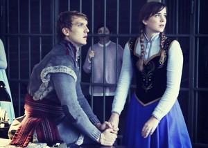 Anna and Kristoff in 'Once Upon a Time'