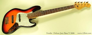 Fender Deluxe Jazz bas, bass