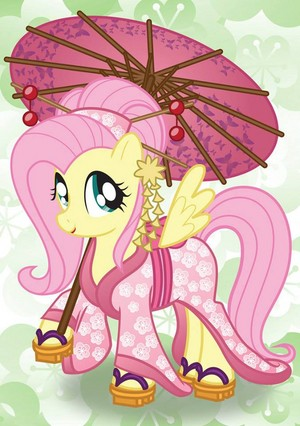 Fluttershy chinese