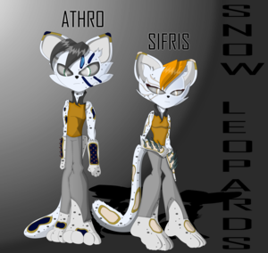 Leopard Twins {Athro and Sifris 2.0}