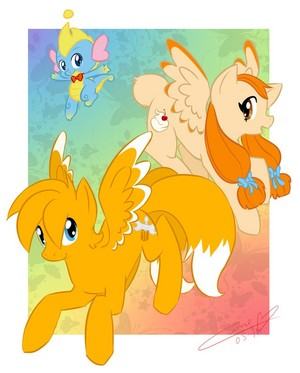 MLPFIM : Tails, Cream and Cheese