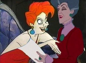 Medusa and Lady Tremaine