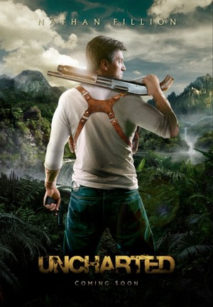 Real Video Game, Fake Movie Poster | Uncharted