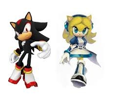 SHADOW AND MARIA THE HEDGEHOG!!!!!!!