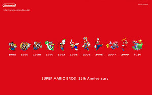 Super Mario All Stars 25th Anniversary edition Wallpaper