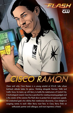 The Flash - Cisco Ramon