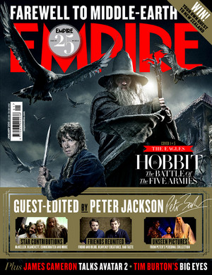 The Hobbit: The Battle of Five Armies - Empire Magazine Cover