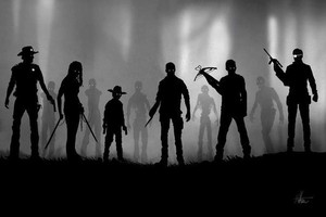 The Walking Dead in the Theme of the Indie Game Limbo