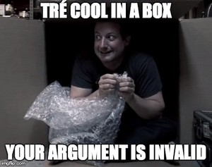 Tré Cool In A Box