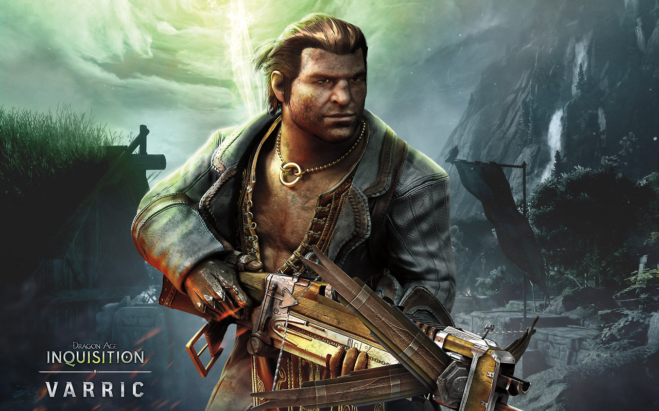 Varric Dragon Age Inquisition Dragon Age Origins Wallpaper