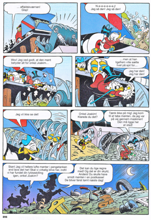 Walt Disney Comics - Donald Duck: Magica Outwitted Von Donald (Danish Edition)