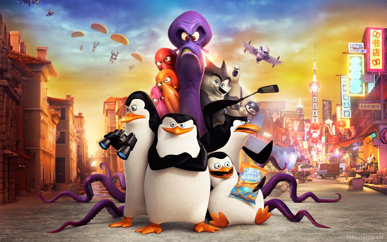 new movies and tv shows images penguins of madagascar movie hd