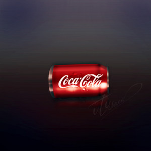 Coca Cola Can DiditalArt