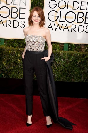 Emma Stone- 72nd Annual Golden Globe Awards