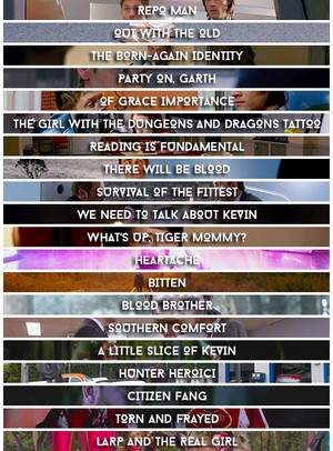 Episode titles
