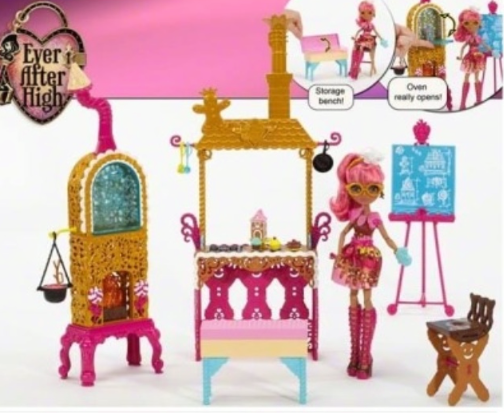 Ginger Breadhouse Sugar Coated Playset 2015