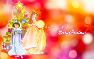 Holiday Princess - jasmim and Belle