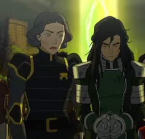 Kuvira and Lin
